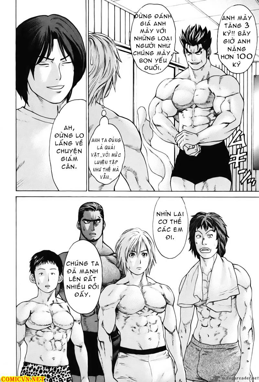 Karate Shoukoushi Kohinata Minoru chap 53 Trang 9