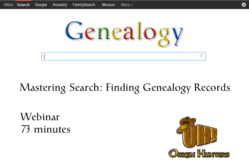mastering ancestry com search