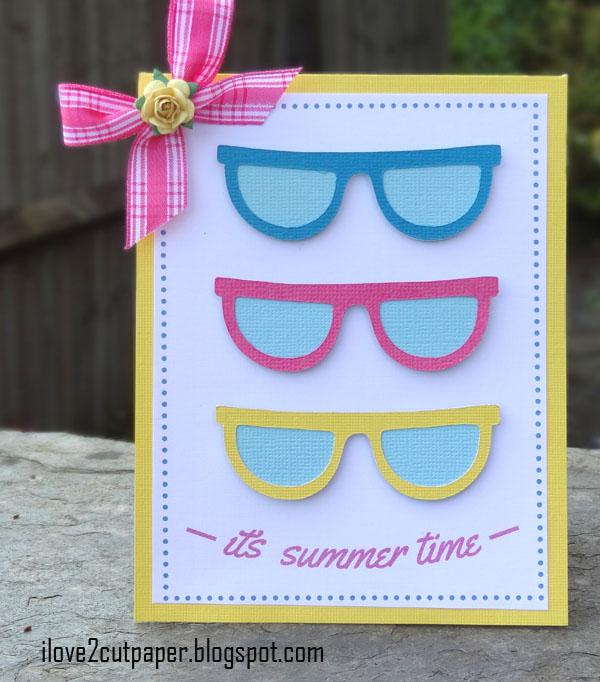 sun, sunglasses, ilove2cutpaper, LD, Lettering Delights, Pazzles, Pazzles Inspiration, Pazzles Inspiration Vue, Inspiration Vue, Print and Cut, svg, cutting files, templates,