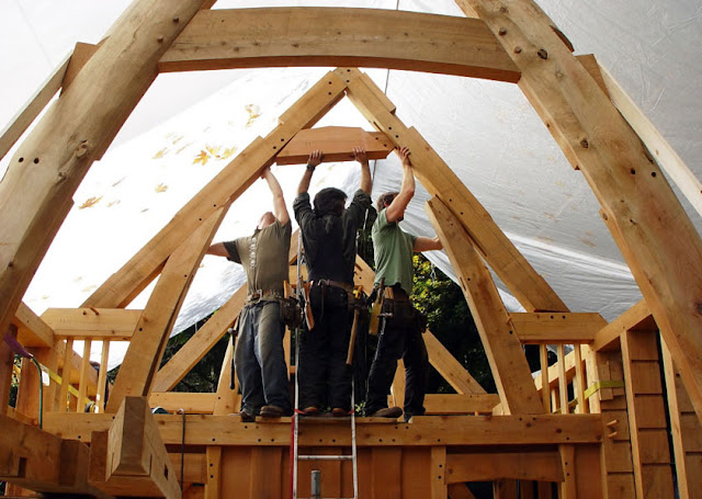 lloyd s blog small timber frame home in british columbia