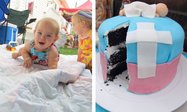 Babies and Cake