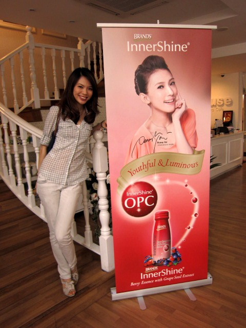 brands innershine opc Kinohimitsu japan uv-bright drink is a functional, instant drink that also provides uv protection for up to 9 hours it is rich in grape seed extract (opc) and effective whitening ingredients such as grape polyphenols, apple polyphenols and vitamin c so you can achieve brighter, fairer, clearer and younger luminous skin in just 6 days.