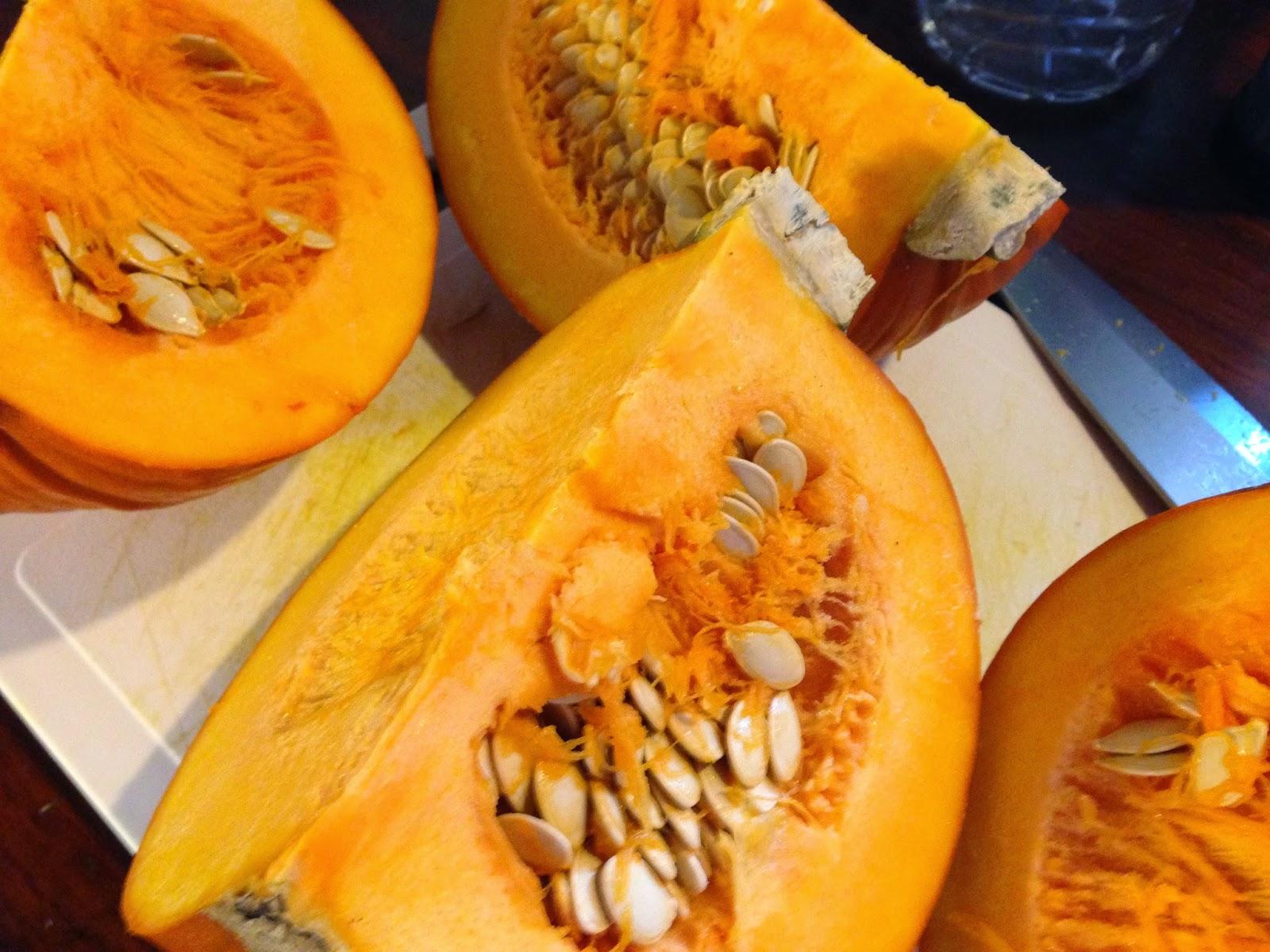 pumpkin quarters
