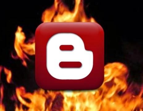 Blogger Tips Cara membuat efek api warna-warni teks blog kode CSS Style