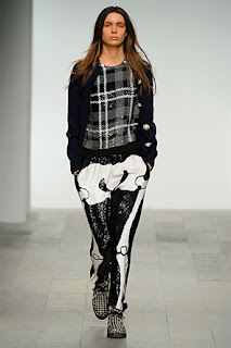 Ashish A/W 2011, skeleton trousers