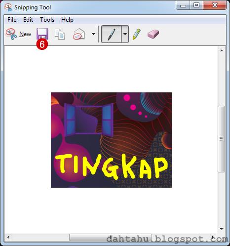 Snipping Tool Print Screen Cara Mudah 6