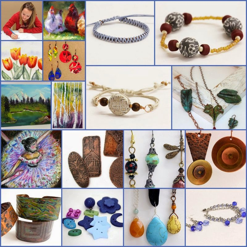We have classes for everyone: beading, knitting, painting, sewing, quilting, and more!