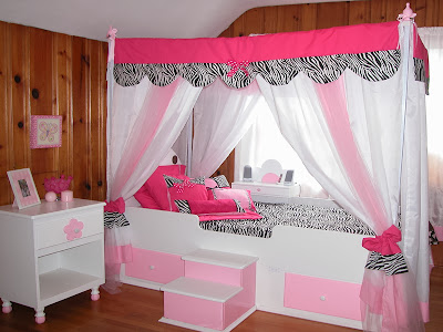 Twin Canopy Bed