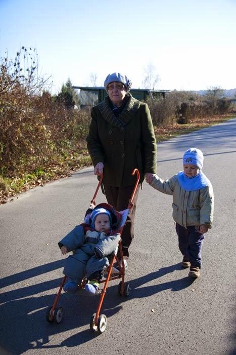 spacer z babcią