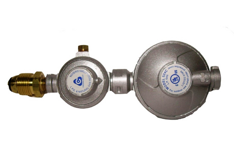 Two Stage Natural Gas Regulator