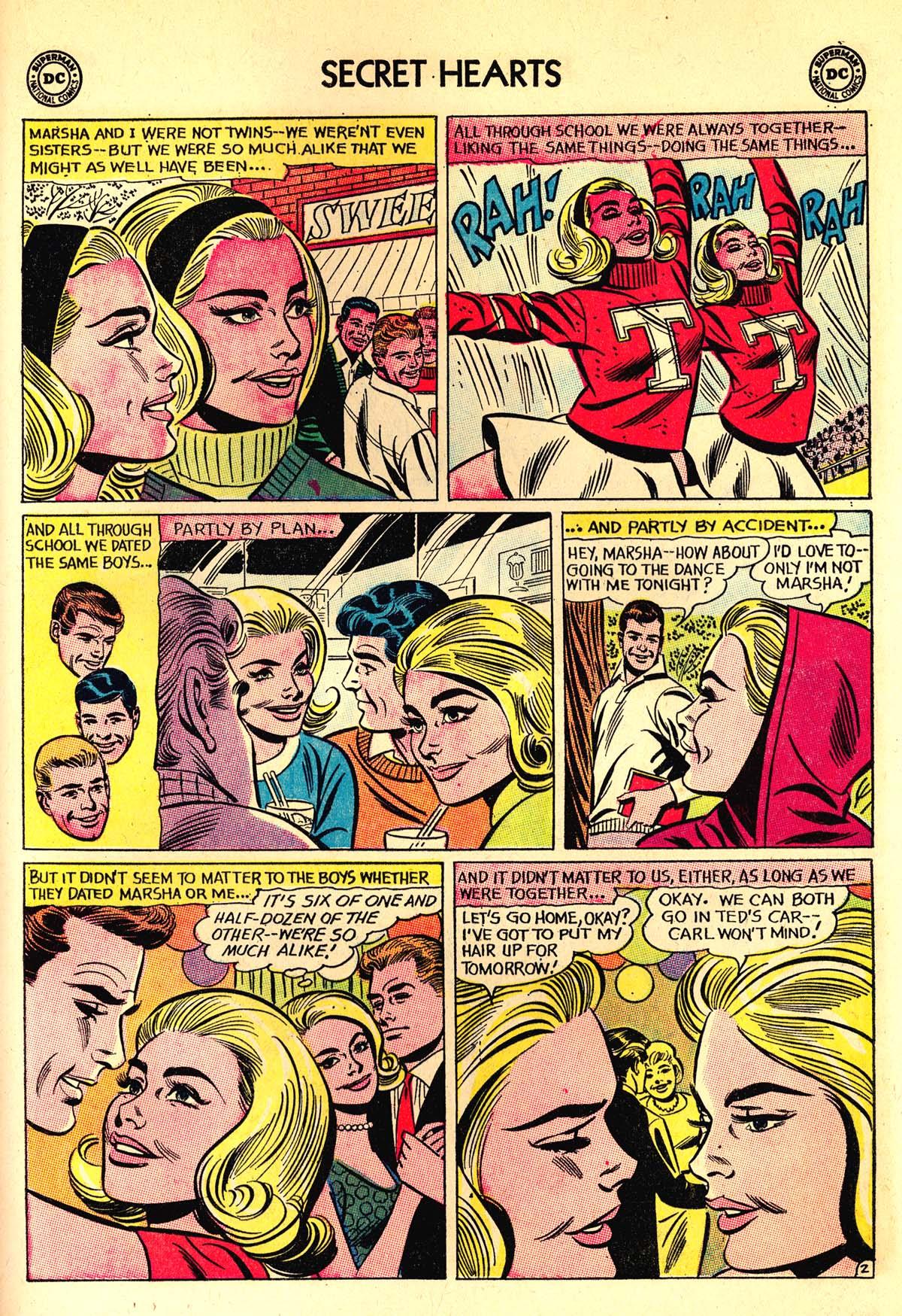Read online Secret Hearts comic -  Issue #89 - 21