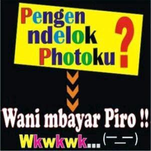 Gambar DP BBM Ga Punya Foto