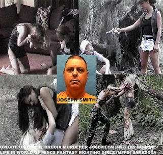 JOSEPH SMITH & HIS BIZARRE LIFE IN WORLD OF MINCS FANTASY FIGHTING GIRLZ SARASOTA FL
