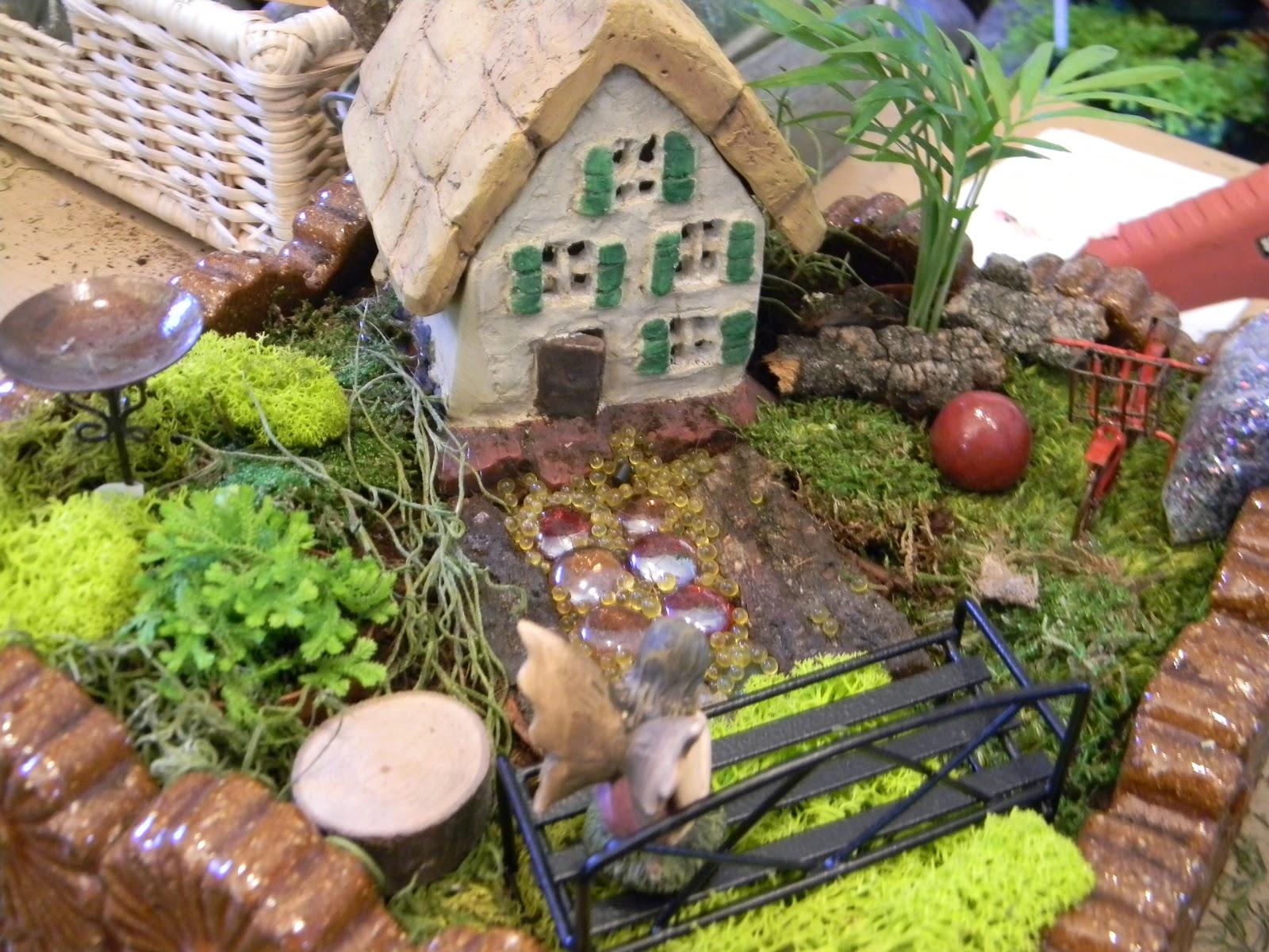 the royal gardens fairy garden workshop this saturday