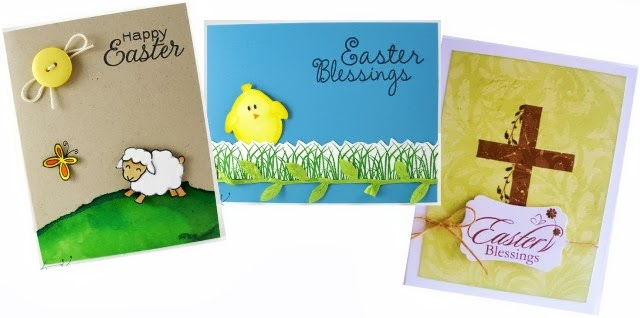 Happy heart handmade quick and easy easter card m4hsunfo