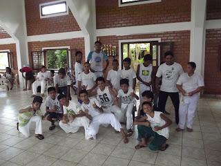 Roda de capoeira, no Evento Afro Cultural de Bonito/ms