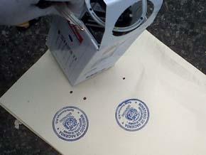 Hombres acribillados en Las Américas tenían en su poder sellos gomígrafos de Aduanas y papeles sellados de la Fiscalía de SD