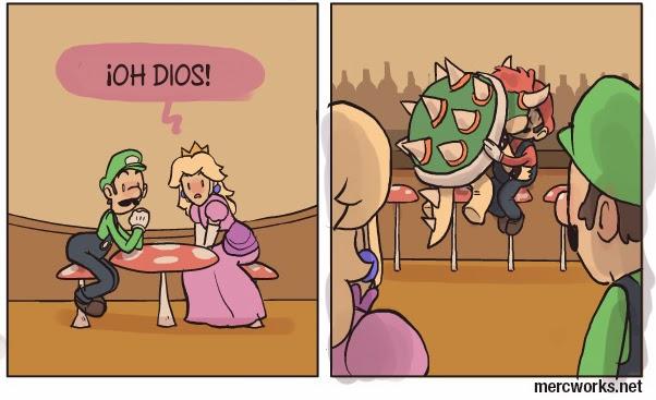 Los celos de Mario y Bowser - parte 3