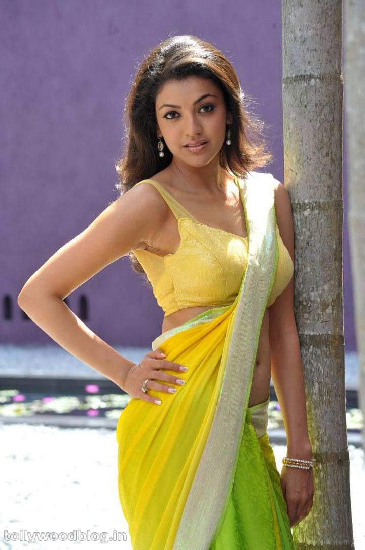 saree wallpapers kajal agarwal - photo #15