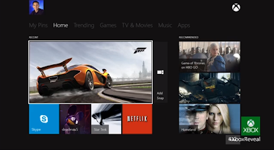 Entertainment Console in Xbox One