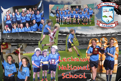 Cumann na mBunscol Football Final PicCollage