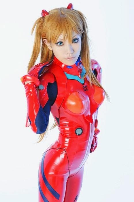 Neon Génesis Evangelion cosplay