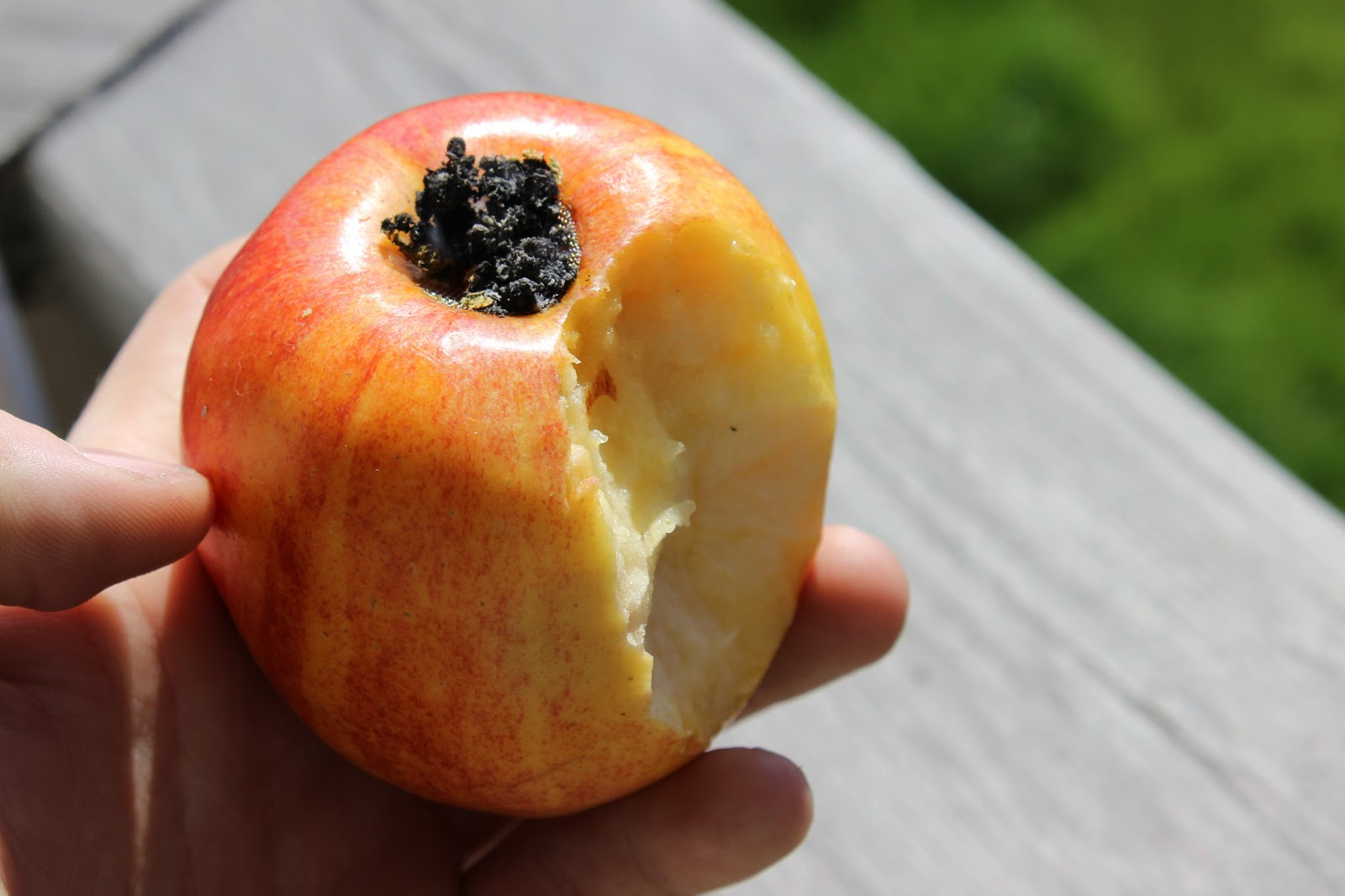 how to make a apple bowl for weed