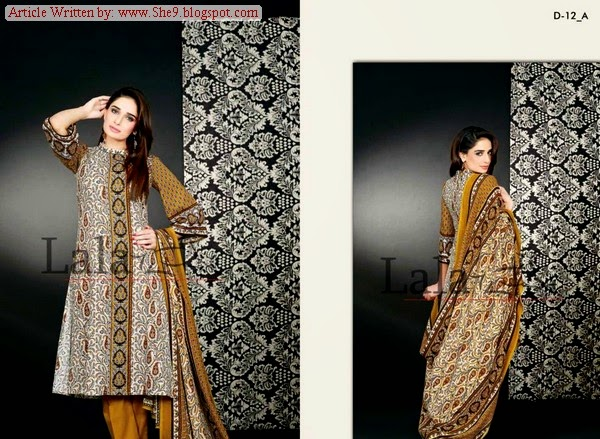 SANA & SAMIA Winter/Fall Khaddi 2014