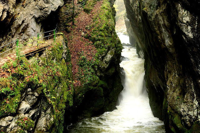 cascadas gorges de l'areuse