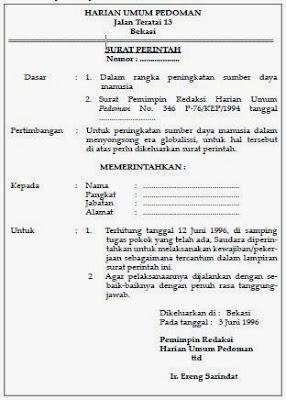 Surat Perintah, surat, perintah