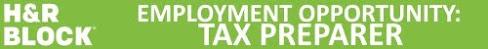 HR tax preparer