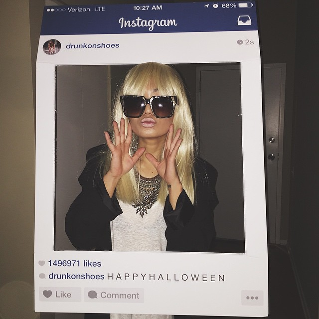 Famous Instagrammer Halloween Costume - via @Wandeleur
