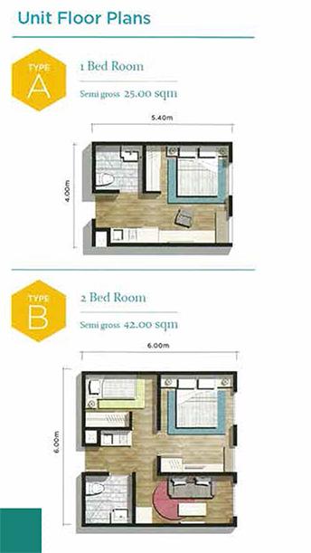 floor plan apartemen chadtone cikarang