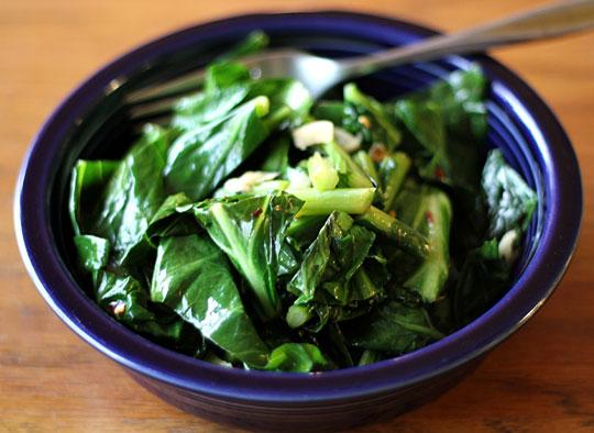 Della's Creations: Vegetarian Collard Greens