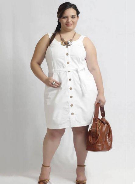 Vestidos de fiesta blanco para gordas