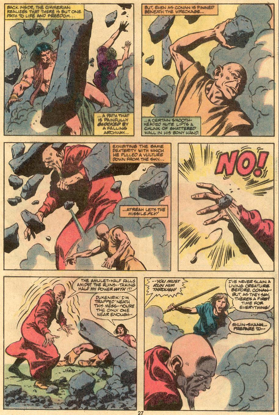 Conan the Barbarian (1970) Issue #122 #134 - English 21