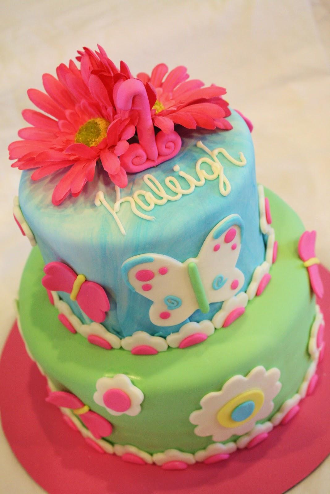 Sweet & Sassy Cakes!: Garden Party Cake