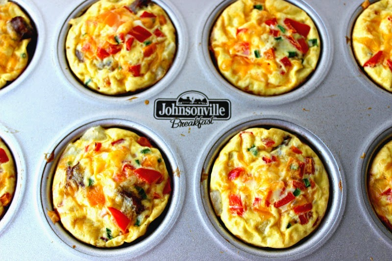 These gluten free sausage muffin cups are ideal for a portable breakfast.