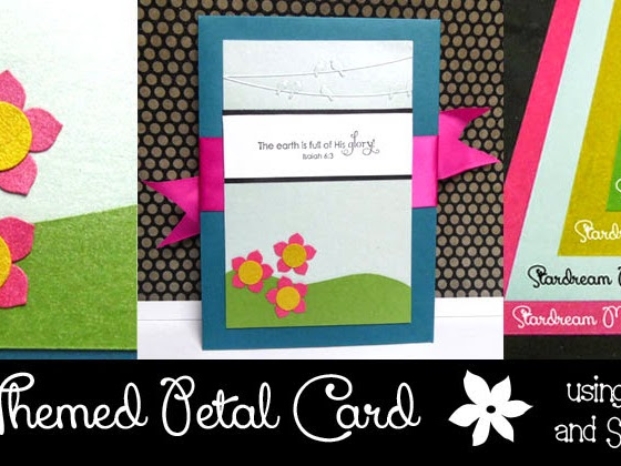 Nature Themed Petal Card
