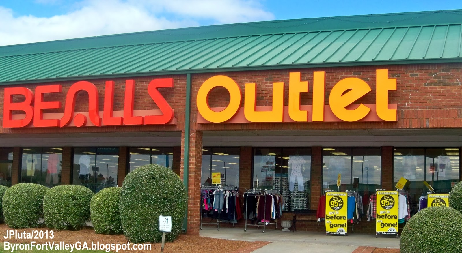 College clothing store