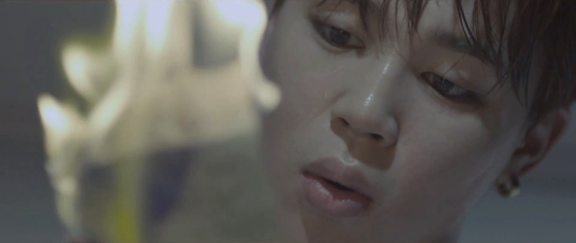 Bangtan's Jimin in I Need You MV