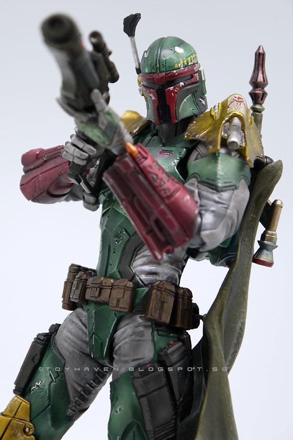 NEW Star Wars Boba Fett SquareEnix VARIANT Play Arts Kai REPLICA Figure Model
