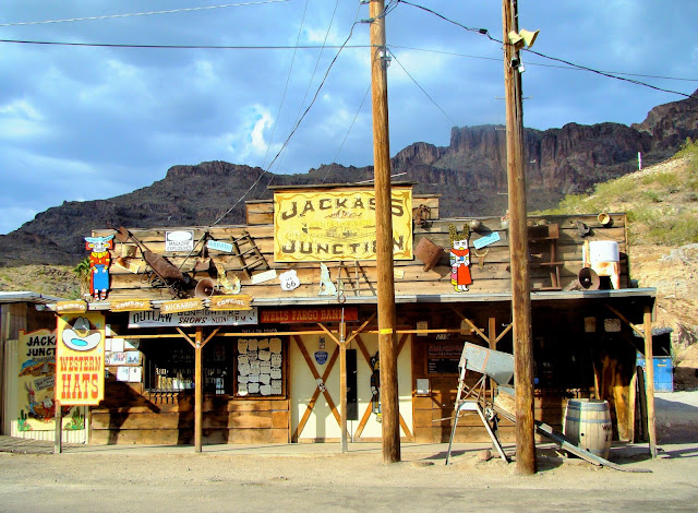 OATMAN - vilalge cow-boy - USA - Etats-unis - Arizona