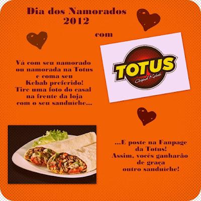 Sugestão para comemorar o Dia dos Namorados 2012: Torus Original Kebab