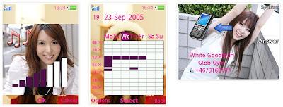 波多野結衣SonyEricsson手機主題for Elm/Hazel/Yari/W20﹝240x320﹞