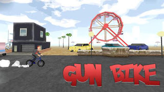 Screenshots of the Gun bike for Android tablet, phone.