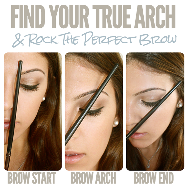 HOW TO : FIND YOUR EYEBROW ARCH