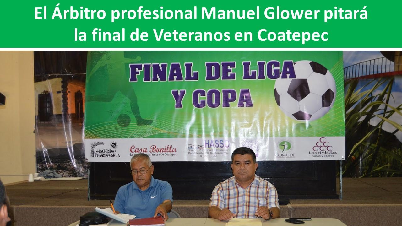 pitará  la final de Veteranos en Coatepec