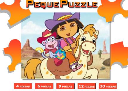 juego puzzle dora