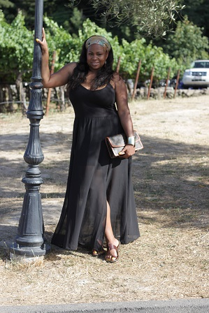 Castello-di-Amorosa, Napa-Valley-Wine-tasting, Louis-Vuitton-clutch-handbag, Justfab-Sheer-bottom-dress, Life-Style-Bloggers,Wine-Tasting